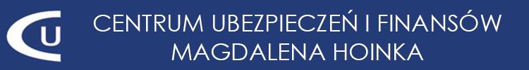 Centrum Ubezpieczeń i Finansów Magdalena Hoinka Logo